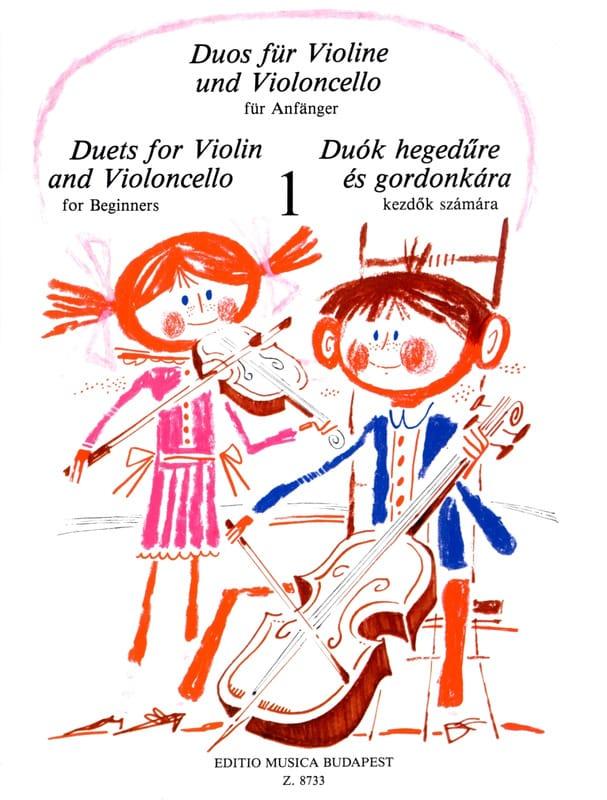 Duets for Violin and Violoncello Volume 1 - laflutedepan.com