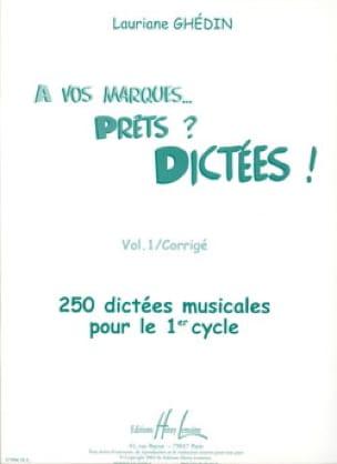 A vos marques, prêts, dictées - Volume 1 Corrigé - laflutedepan.com