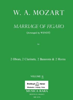 Le Nozze di Figaro Volume 2 -Harmoniemusik - Score + Parts laflutedepan