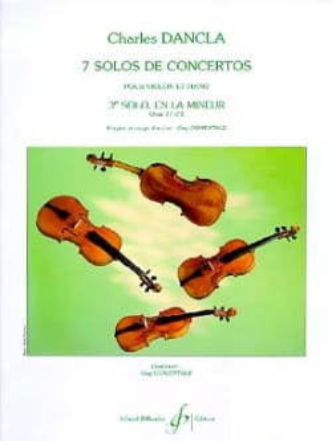 Solo de concerto n° 3 op. 77 en la mineur DANCLA laflutedepan