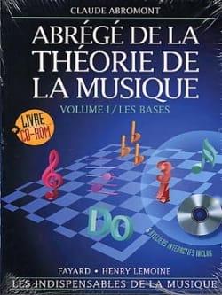 Abrégé de la théorie de la musique Volume 1 Rom laflutedepan