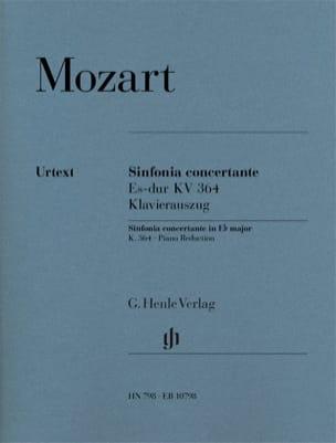 Sinfonia Concertante Es-Dur KV 364 MOZART Partition laflutedepan