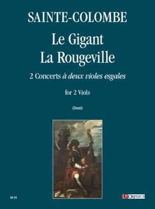 Le Gigant - La Rougeville Sainte-Colombe Partition laflutedepan