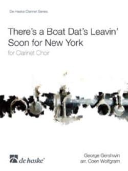 There's a boat dat's leavin' soon for New York -Clarinet Choir laflutedepan