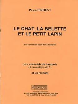 Le Chat la Belette et le Petit Lapin Pascal Proust laflutedepan