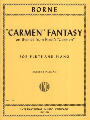 Carmen Fantasy François Borne Partition laflutedepan