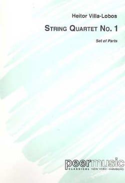Quatuor à cordes n° 1 - Parties VILLA-LOBOS Partition laflutedepan