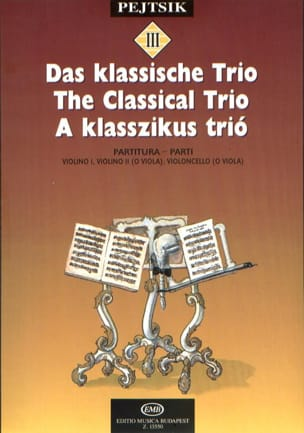 The Classical Trio - String Arpad Pejtsik Partition laflutedepan