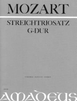 Streichtrio G-Dur KV Anh. 66 -Partitur + Stimmen MOZART laflutedepan