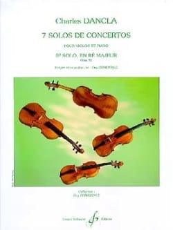 Solo de concerto n° 5 op. 94 en ré majeur DANCLA laflutedepan