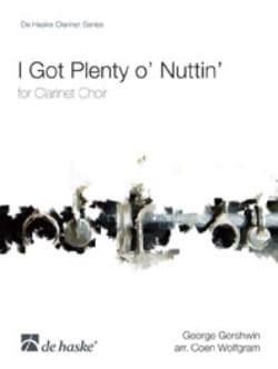 I Got Plenty O' Nuttin' - Clarinet Choir - laflutedepan.com