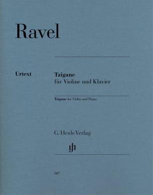 Tzigane - Violon et piano RAVEL Partition Violon - laflutedepan
