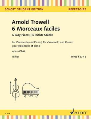 6 Morceaux Faciles, op. 4 - Violoncelle et Piano laflutedepan