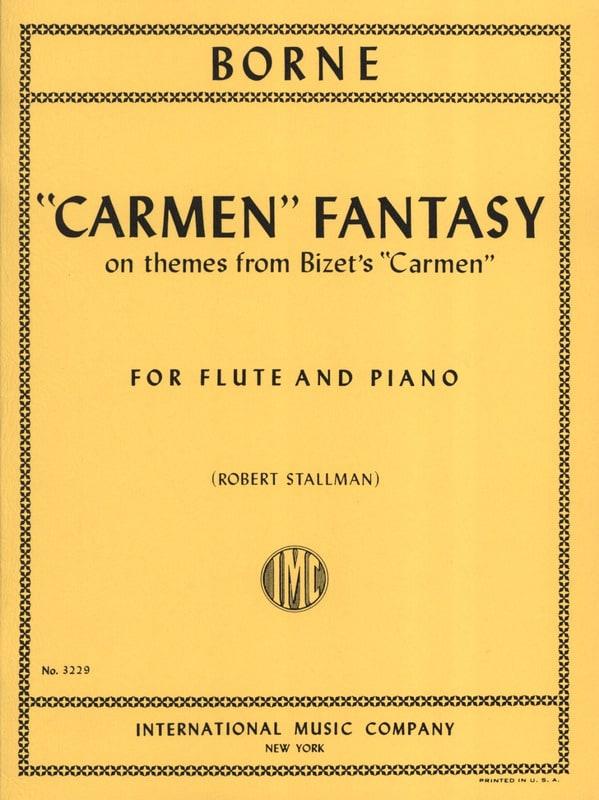 Carmen Fantasy - François Borne - Partition - laflutedepan.com