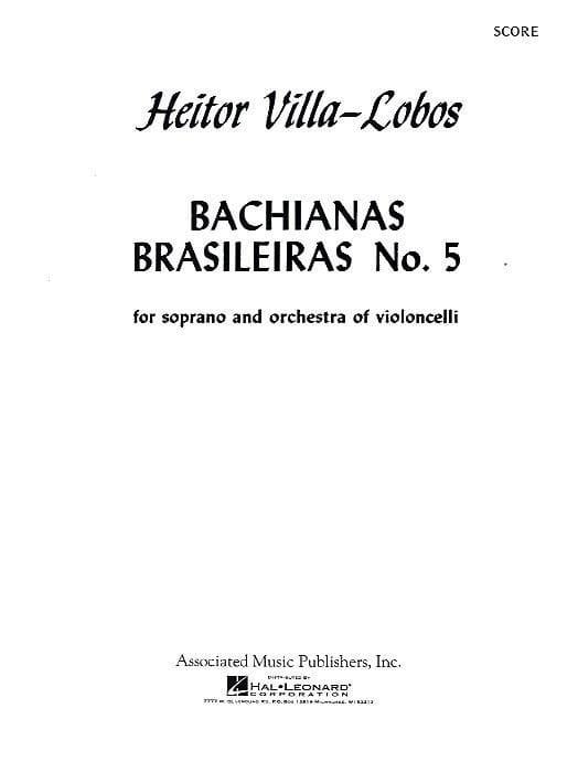 Bachianas brasileiras n° 5 - Conducteur - laflutedepan.com