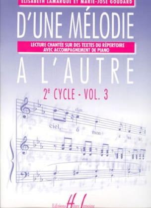 D'une Mélodie à L'autre Vol. 3 - 2ème Cycle - laflutedepan.com
