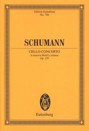 Violoncello-Konzert A-Moll, Op. 129 - Conducteur SCHUMANN laflutedepan