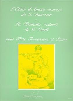 Elisir d'amor romance / Traviata andante - Flûte piano laflutedepan