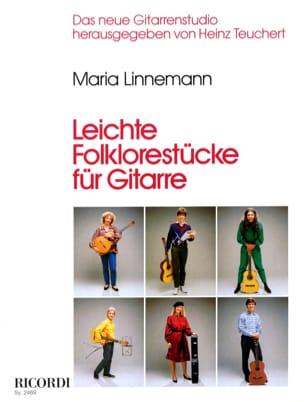Leichte Folklorestücke für Gitarre Maria Linnemann laflutedepan