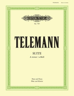TELEMANN - Suite in the Miner - Partition - di-arezzo.co.uk