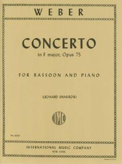 Concerto in F major op. 75 - Bassoon piano laflutedepan