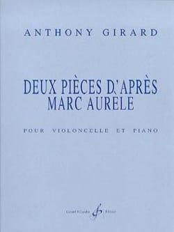 2 Pièces d'après Marc Aurèle Anthony Girard Partition laflutedepan