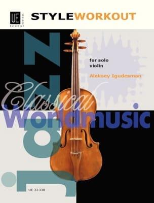 Style Workout Aleksey Igudesman Partition Violon - laflutedepan