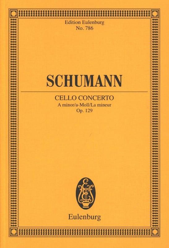 Violoncello-Konzert A-Moll, Op. 129 - Conducteur - laflutedepan.com