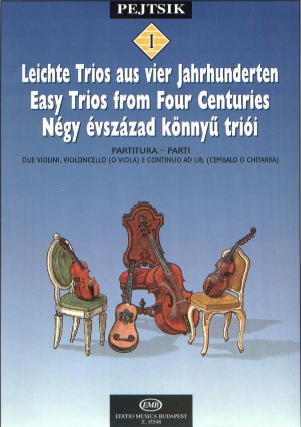 Easy Trios from four Centuries - String Trio - laflutedepan.com