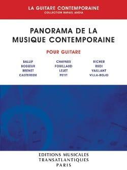 Panorama de la Musique Contemporaine Volume 1 laflutedepan