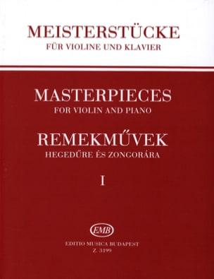 Meisterstücke, Volume 1 Meisterstücke Partition Violon - laflutedepan