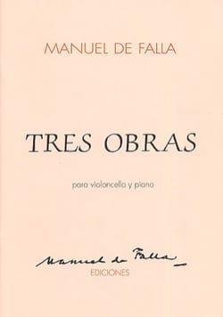 Tres obras - Cello DE FALLA Partition Violoncelle - laflutedepan