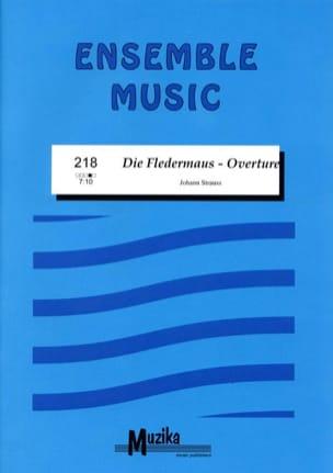 Die Fledermaus Overture Johann (Fils) Strauss Partition laflutedepan
