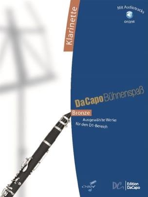 Da Capo Bühnenspass - Clarinette Partition Clarinette - laflutedepan