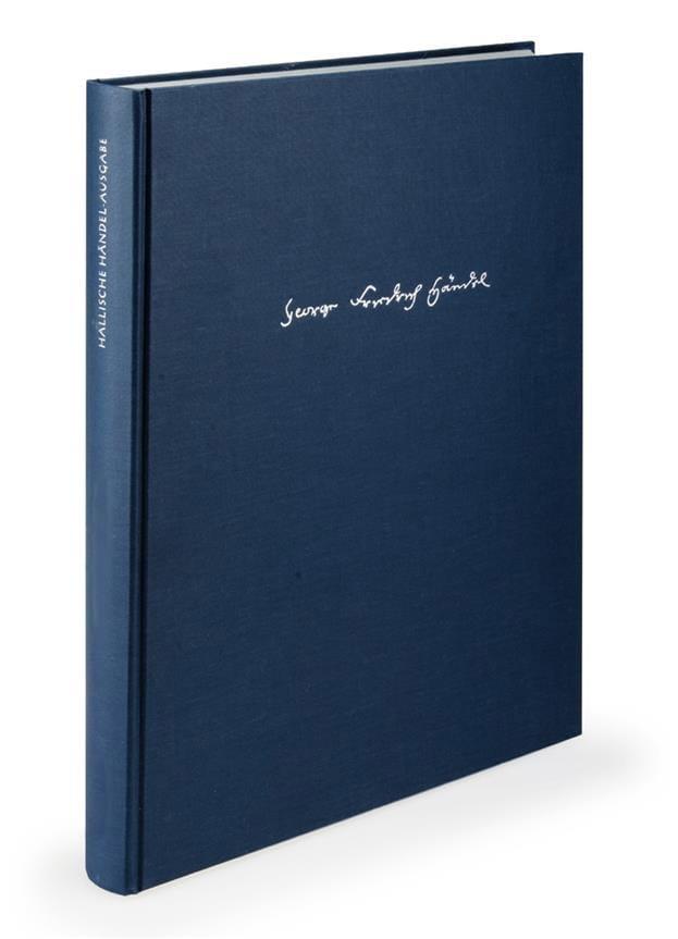 Almira. Oper in drei Akten. Urtext der Hallischen Händel-Ausgabe II/1 - laflutedepan.com