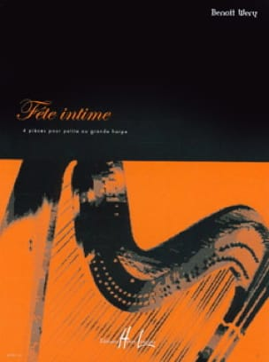Fête intime - Benoît Wery - Partition - Harpe - laflutedepan.com