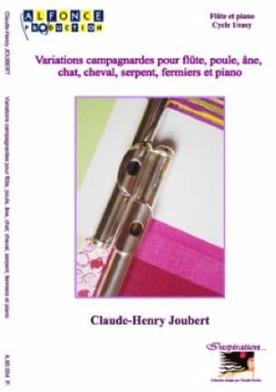 Variations Campagnardes - Claude-Henry Joubert - laflutedepan.com