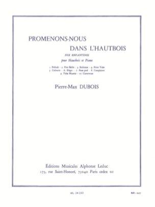 Promenons-nous dans L'Hautbois Pierre-Max Dubois laflutedepan