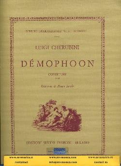 Démophoon, ouverture CHERUBINI Partition Grand format - laflutedepan