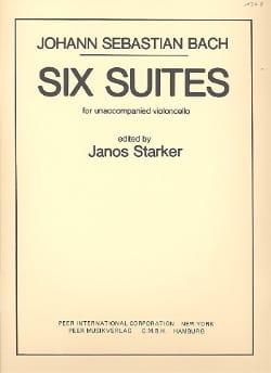 6 Suites, BWV 1007-1012 - BACH - Partition - laflutedepan.com