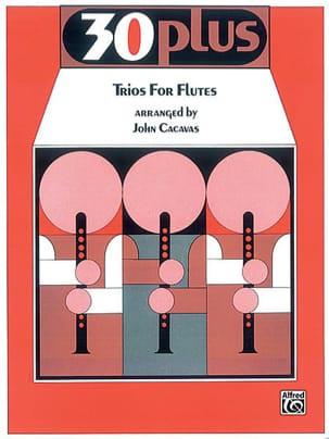30 Plus Trios For Flûte - compositeurs Divers - laflutedepan.com