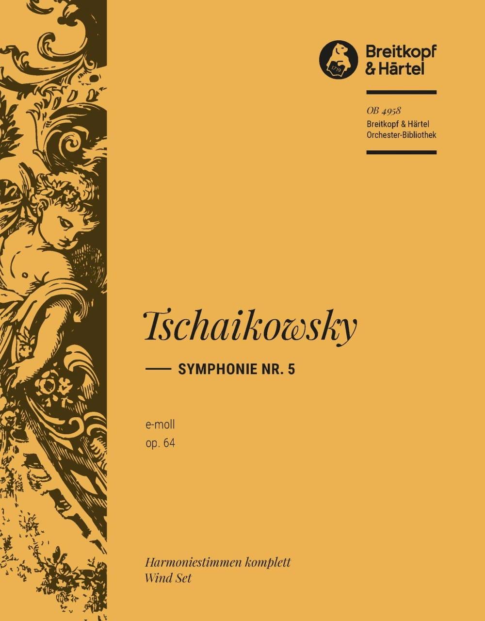 Symphonie, Nr. 5 e-moll op. 64 - TCHAIKOVSKY - laflutedepan.com