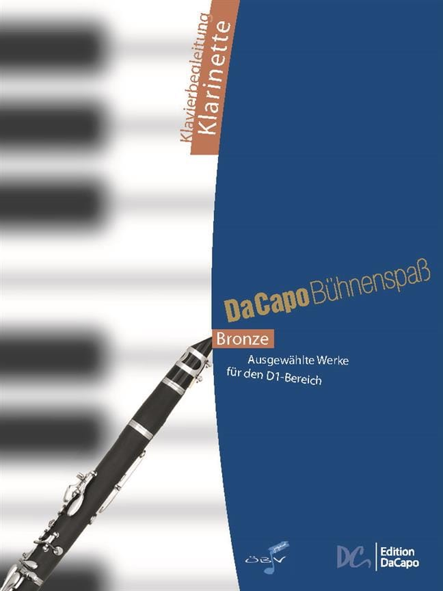 Da Capo Bühnenspass - Accompagnements Piano - laflutedepan.com