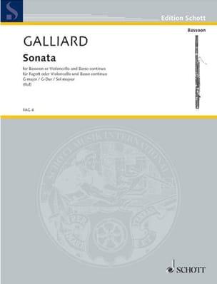 Sonate G-Dur -Fagott o. Cello u. Bc - laflutedepan.com