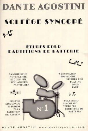 Solfège syncopé n° 1 Dante Agostini Partition Solfèges - laflutedepan