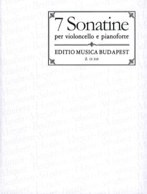 7 Sonatines pour Violoncelle et Piano - laflutedepan.com
