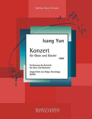Konzert für Oboe und Klavier 1990 - Isang Yun - laflutedepan.com