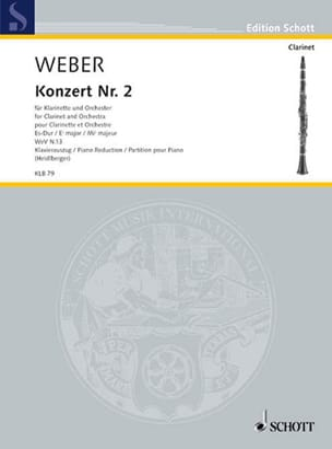 Concerto N° 2 en Mib Majeur Opus 74 - laflutedepan.com