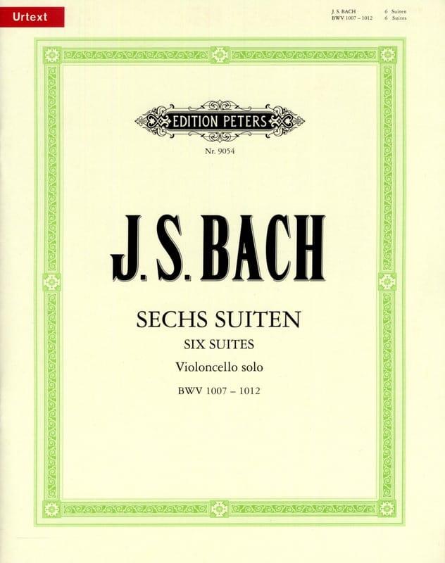 6 Suites pour Violoncelle Seul - BACH - Partition - laflutedepan.com