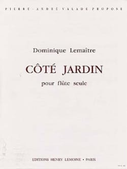 Côté jardin Dominique Lemaitre Partition laflutedepan